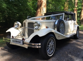 Beauford Tourer for weddings in Dartford